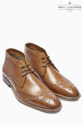 Кожаные ботинки от Next Деми англия 11, 5 евро 46
