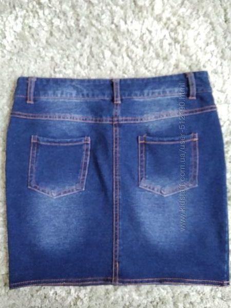 Юбка под джинс