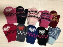 Перчатки, рукавички для мальчиков и девочек, распродажа.