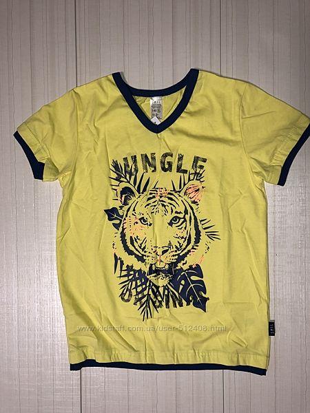 Распродажа летние футболки мальчик р 98-140
