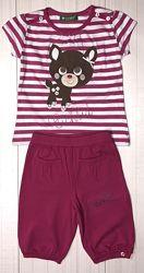 Распродажа летней одежды девочка р 92-128