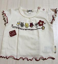 Распродажа -летние футболки  девочка Польша, Wojcik 68-98