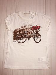 Летние футболки для девочек, Польша, Wojcik 92-140