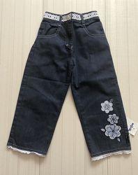 Распродажа- летние джинсы для девочек , Польша Wojcik 74-98