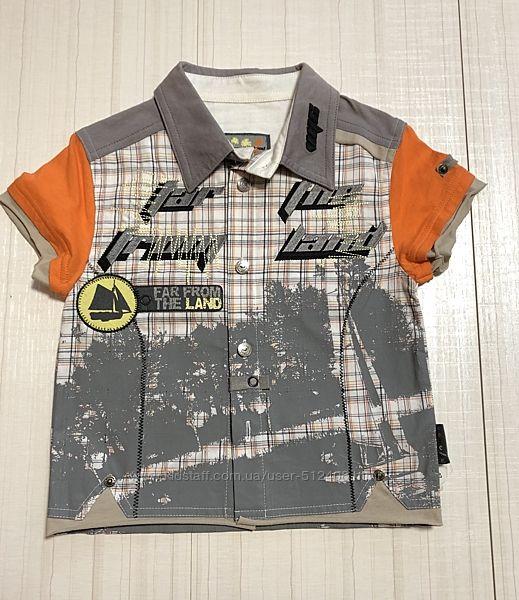 Распродажа летние хлопковые рубашки  мальчик Польша, Wojcik