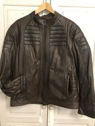 Мужская кожаная куртка XL-XXL