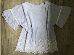 Вышиванка,  блузка TU, 12 р, M-L