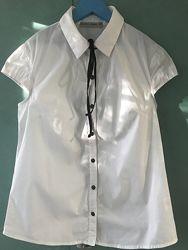 Блузка белая в школу  152 - 164 см