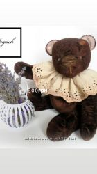Полная распродажа Винтажный тедди мишка интерьерная игрушка ручной работы