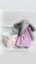 Полная распродажа Милая тедди слоняшка интерьерная игрушка ручной работы
