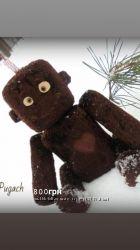Полная распродажа Винтажный тедди робот интерьерная игрушка ручной работы