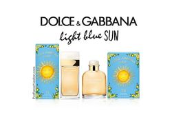 Dolce & Gabbana Light Blue Sun Italian Zest New и др Парфюмерия оригинал