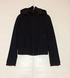 Шерстяное пальто бомбер  NEW LOOK