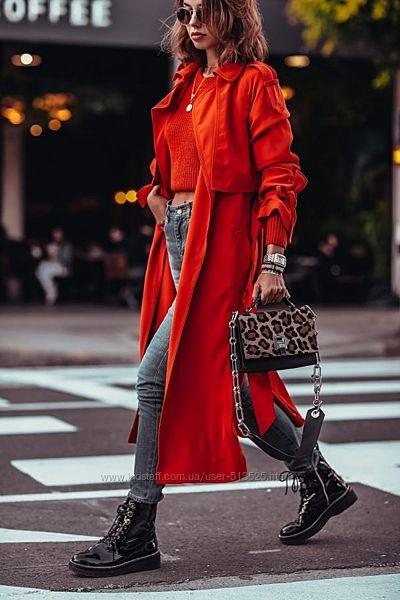 Тренч vintage oversaize H&M