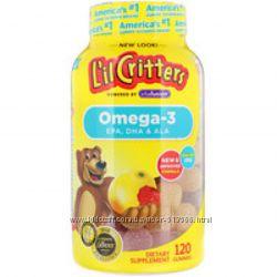 Омега-3 детская lil critters 120