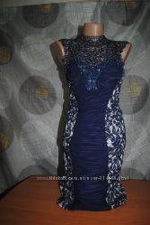 Шикарное праздничное платье с болеро