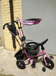 Велосипед Mini Trike с надувными колесами для детей от 1 года