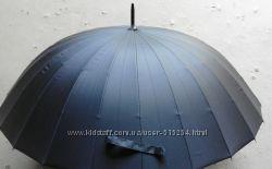 Зонты Марio. Зонт трость-механика , спиц 24. С бесплатной доставкой.