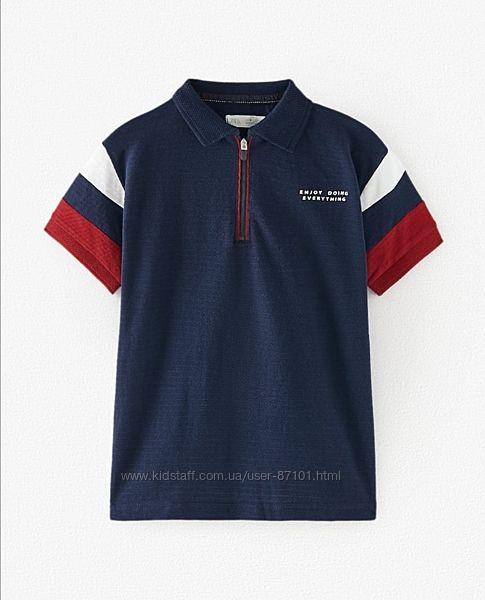 Новое поло футболка для мальчика подростка zara 146  152