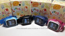 Детские умные часы телефон Smart Baby Watch Q90 Q50 Оригинал GPS WiFi