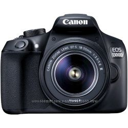 Фотокамера дзеркальна CANON EOS 1300D 18-55 DC III з сумкою