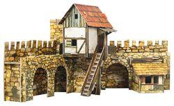 Городская площадь Актеры. 3D пазл, сборная модель