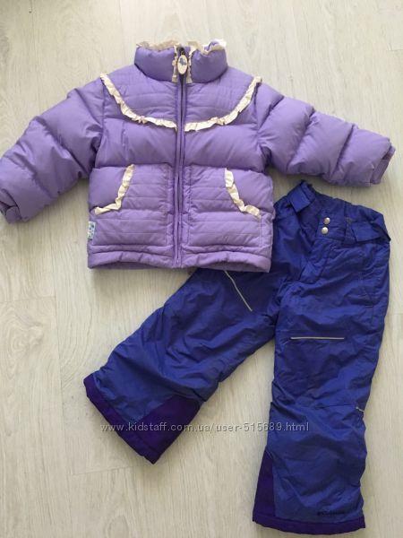 Зимняя куртка Obermeyer и зимние штаны Columbia