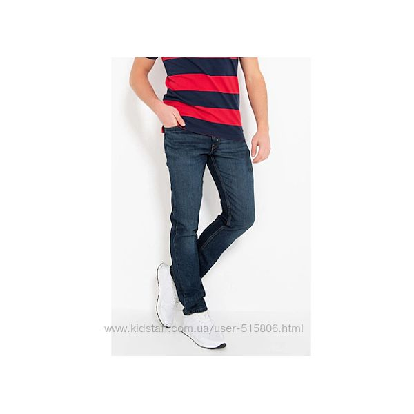 LEVIS 511 Slim  джинсы оригинал из США р.32,33,34