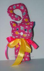 Мягкая игрушка-сувенир Котик.