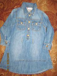 fea74ca1e2c Платье джинсовое для девочки фирмы Next 3-4г.