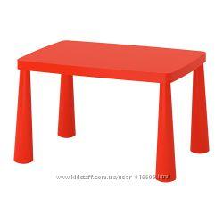 Детский столик IKEA MAMMUT Маммут
