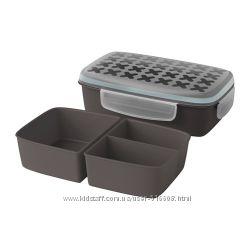 Ланч-бокс на 3 отделения FESTMALTID IKEA 50340295