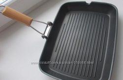 Сковорода - гриль со складной ручкой IKEA GRILLA 50055085