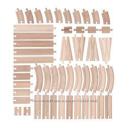 Железная дорога - меганабор дополнительных секций IKEA LILLABO 10320077