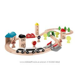 Железная дорога - меганабор с декорациями IKEA LILLABO 203. 300. 66
