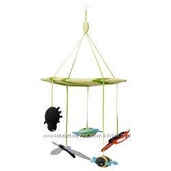 Подвесная игрушка на кроватку или коляску мобиль IKEA LEKA 90176759