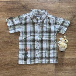 Рубашка летняя очень легкая на 2-5 лет