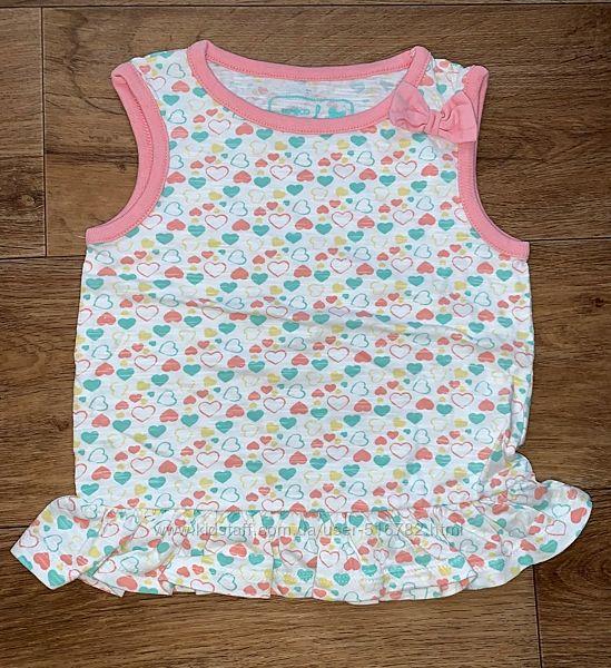 Туника платье 2-3 г 92-98 см