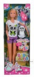 Кукла Simba Штеффи и малыш панды с аксессуарами 5733048