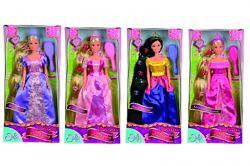 Кукла Steffi Сказочная Принцесса с длинными волосами и расческой 5733398