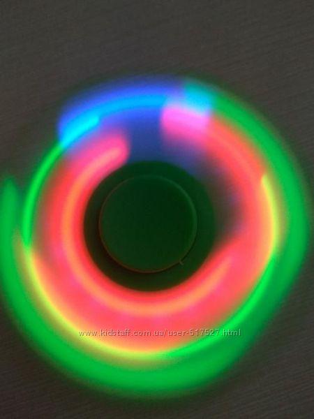 Лед спинер Spiner LED спинер spiner Оригинал светящийся диоды