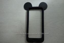 Бампер для iPhone 5-5S черн