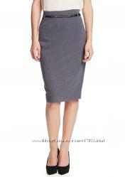 Юбка с ремнем AMANDA & CHELSEA Belted Pencil Skirt 4 US