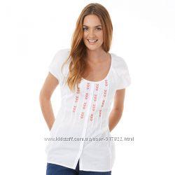 Блуза белая Onfire Womens Top White 10 uk