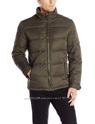 Куртка Perry Ellis Mens Puffer Coat with Bib