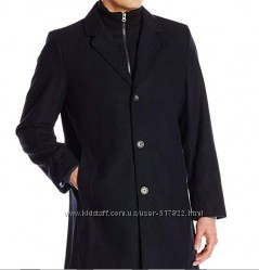 Пальто Tommy Hilfiger Mens Bruce 36 Inch Single Breasted Wool Top Coat with