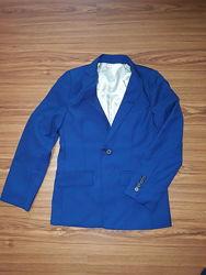 Темно-синий школьный пиджак River Island