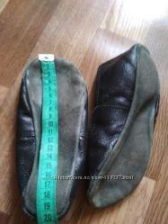 Чешки кожаные 21 см