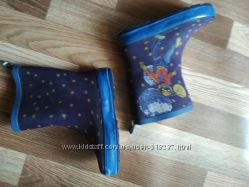 Резиновые детские сапоги 21 размер, обувь оптом