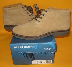 43р. Нові черевики Nunn Bush Tomah Chukka. Оригінал. Індія. US9. 5